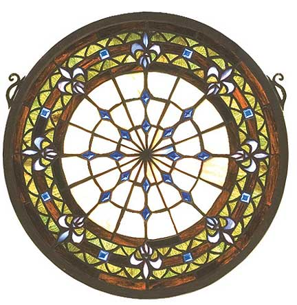 Stained Glass Window Round Stained Glass Window
