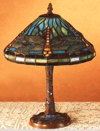 products lamp lady dragonfly tl cb table with tiffany art deco