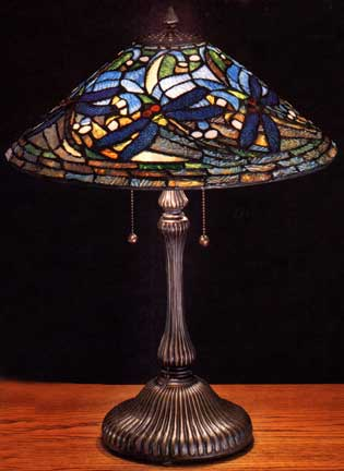 Tiffany Lamps Flying Dragonfly Large Table Lamp M27510