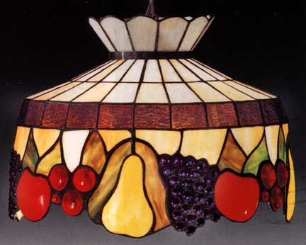 Tiffany lamps fruit style hanging lamp aloadofball Choice Image