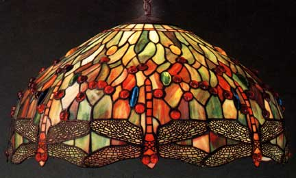 Tiffany Lamps Dragonfly Hanging Lamp