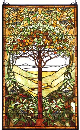 Stained Glass Windows Tiffany Tree Of Life Window By
